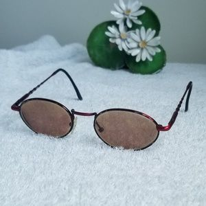Super Awesome Red Italian Rx Glasses by Eyetel